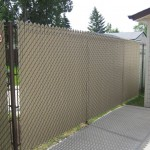 Taupe Inserts - Brown Vinyl Chain Link