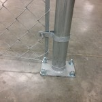 Industrial Chain Link with Flange Plate