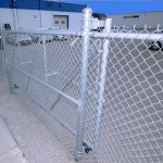 Galvanized Chain Link Cantilever